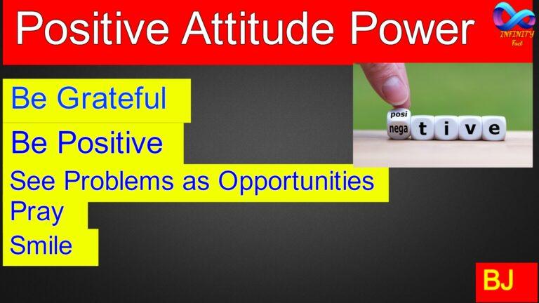 Positive Attitude Power