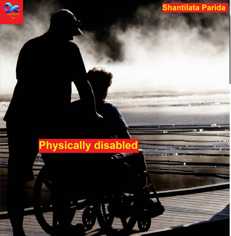 Physically disabled अपाहिज