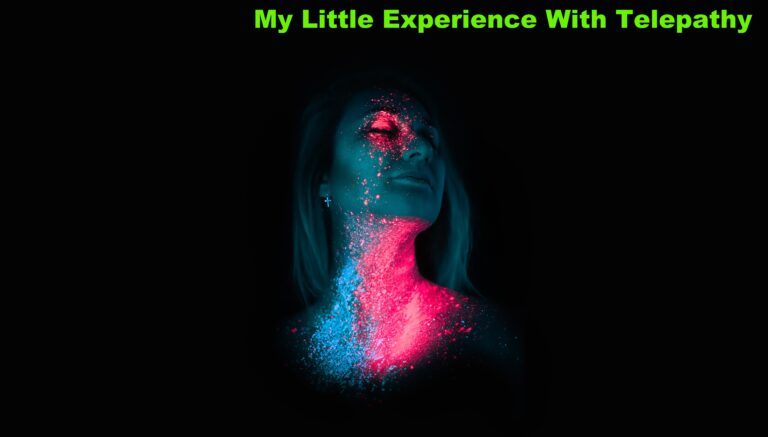 My Little Experience With Telepathy