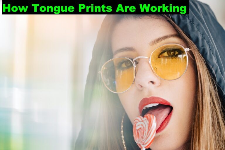 How Tongue Prints Are Working in Identification Methods